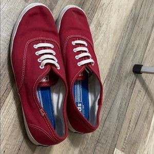 Keds red shoes